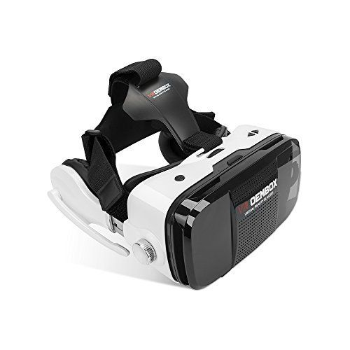 VR OEMBOX 3D VR GlassesVirtual Reality 3D Headset Box Support iphone Samsung LG and Other Smart Phones with Headphone for Immersive Movies and Games by Phshion * Be sure to check out this awesome product.