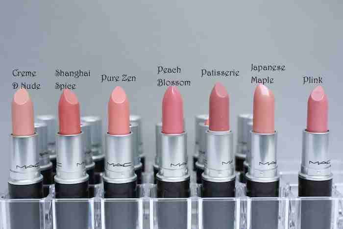 Nude color types.  Some of the best colors