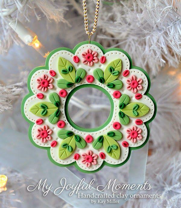 My Joyful Moments: New Ornaments in Etsy Store!