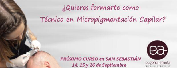 Eugenia Arrieta Micropigmentación Curso Micropigmentación CAPILAR. 14,15 y 16 de Septiembre - Eugenia Arrieta Micropigmentación