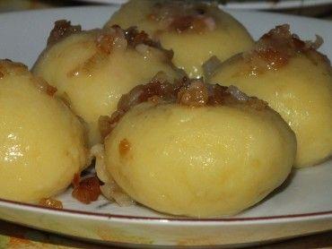 Kluski leniwe z ziemniakami - Przepisy kulinarne - Dania główne