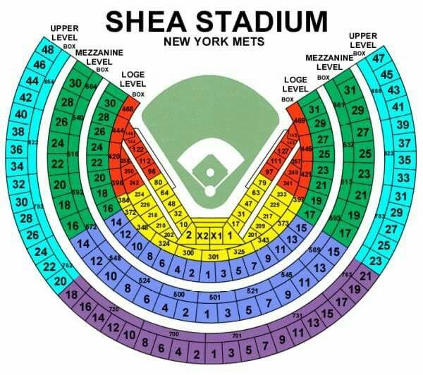 She Stadium seating plan.