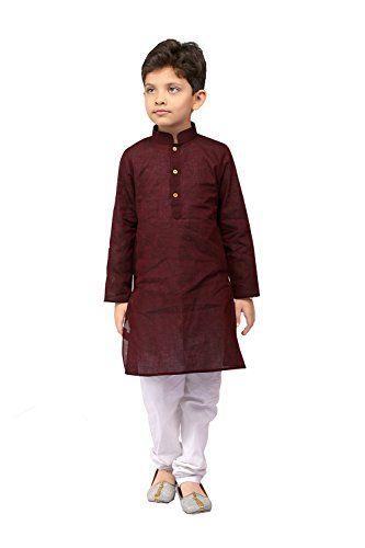 PCC Kids Indian Ethnic rama Green Silk Jequard Kurta Pyjama Set for Boys – amazonmode