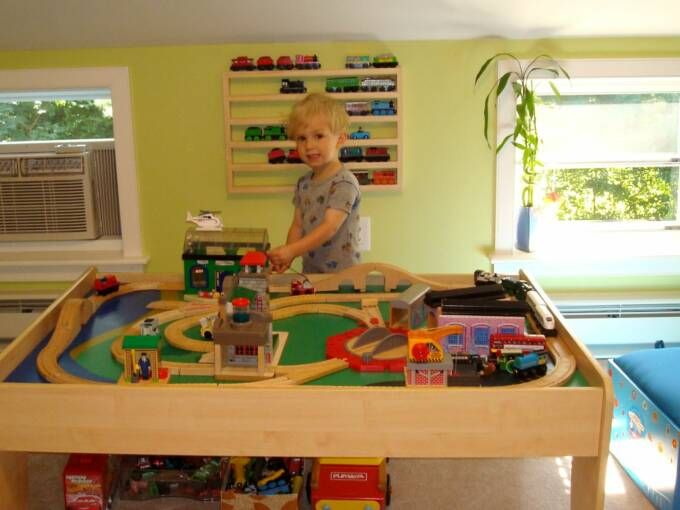 Thomas Train Storage Ideas For Display And Organization Works For Brio And Mellissa And Doug Trains Brio Train Wooden Train Train