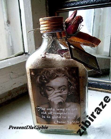 M Monroe Wilde sól do kąpieli róża cynamon unikat