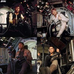 Gunner of the Millenium Falcon