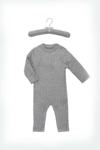 Elegant Cable Knit Jumpsuit