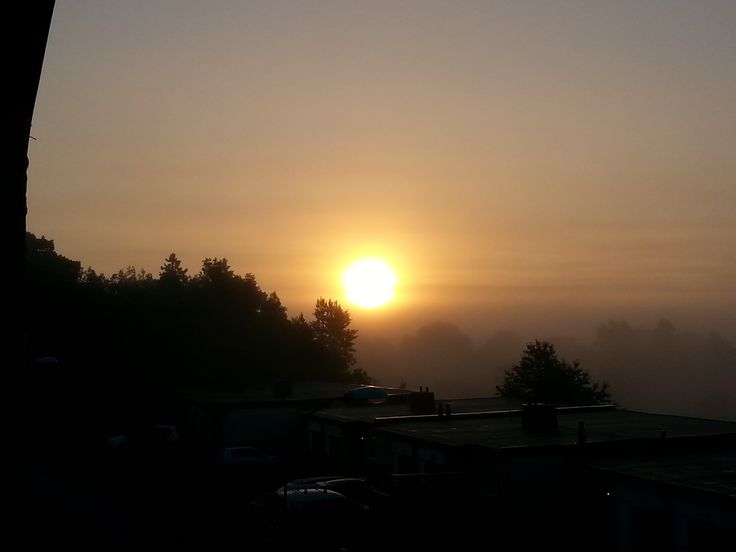 Soluppgång i oktober