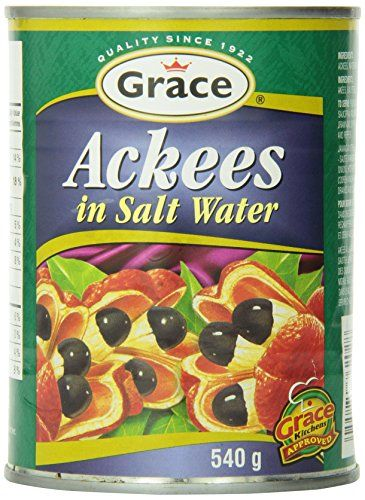 Grace Ackees in Salt Water Cans 19 Ounce * Click on the image for additional details. (Note:Amazon affiliate link) #FoodFrozenSnackFreshProduced