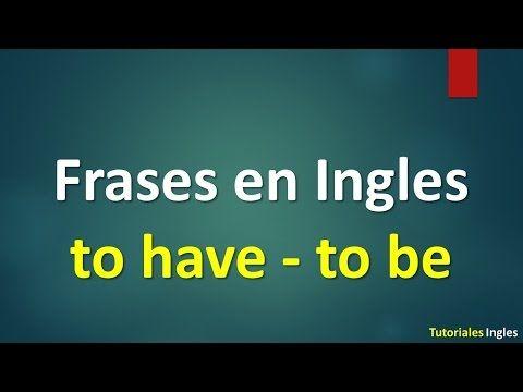 Lista de 100 frases básicas para Aprender Ingles. - YouTube