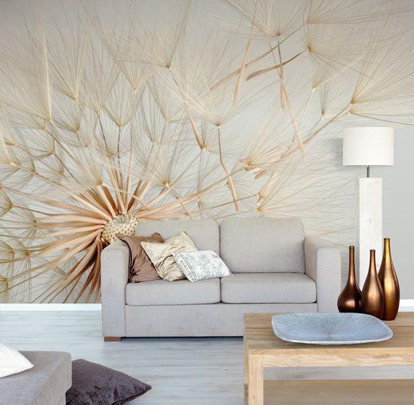papier-peint salon