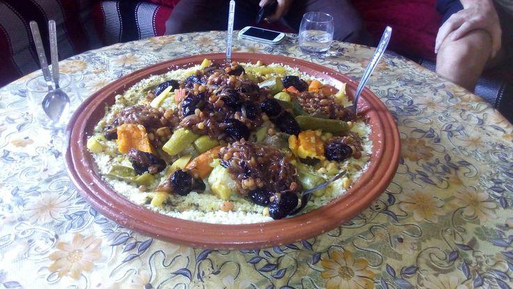 Kuskus , morocco
