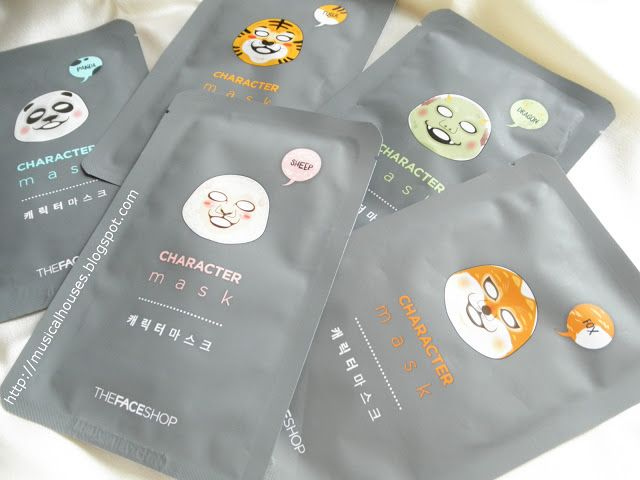 The Face Shop Character Mask Review and Ingredients Analysis