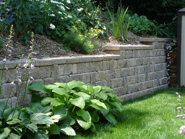 retaining wall ideas back yard ideas for retaining wall for the