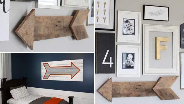 Idee di pareti di casa in pallet di legno