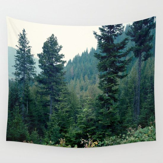 Tree tapestry, woods nature wall tapestry, forest tapestry wall hanging decor, extra large wall art, scenic tapestry, boho tapestry, modern