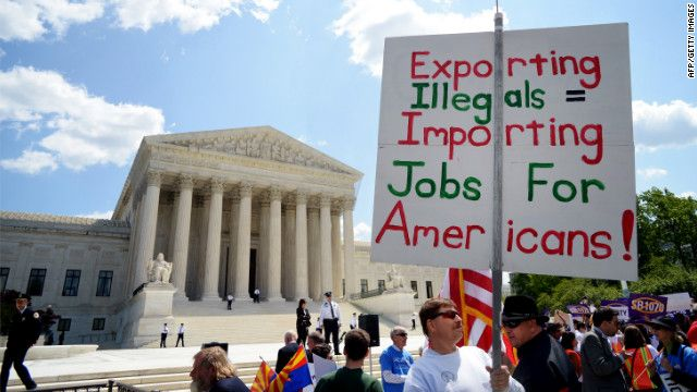 In 1986 the Immigration Reform and Control Act  was passed and this prohibits employers knowingly hiring illegal persons in the United States. To try and regulate this, employes are required to fill out Form I-9.  This is to verify the employes identity and eligibility to work.  Homeland Security enforces penalties to those that have not properly completed the I-9.