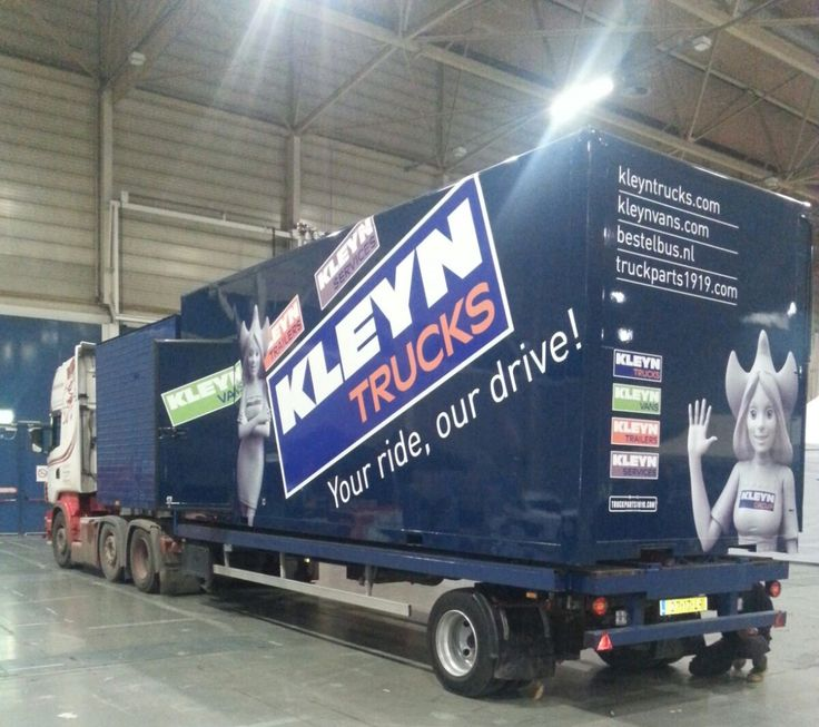 Dutch Truckracing is borrowing our exhibition-stand. You can find them at the Racing Days in Maastricht (NL) this weekend.