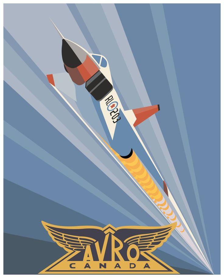 Avro Arrow (Vector) by DecoEchoes