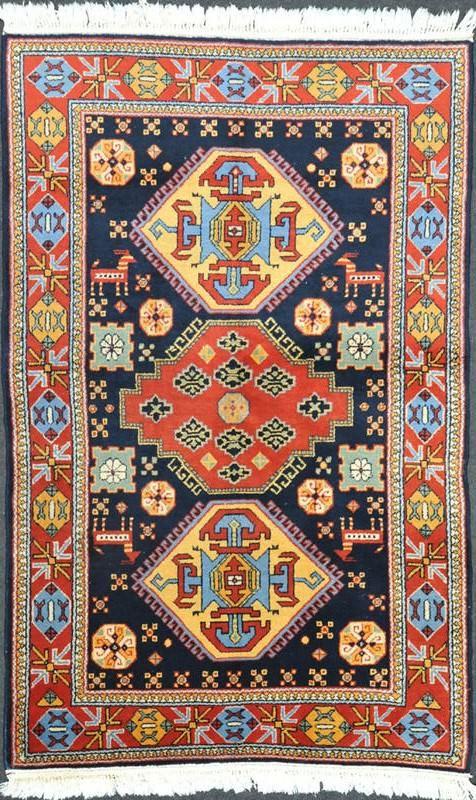 "Kazak Lori Pambak rug Dimensions190 x 118 cm ( 6' 3"" x 3' 10"" ) Origin CAUCASUS"