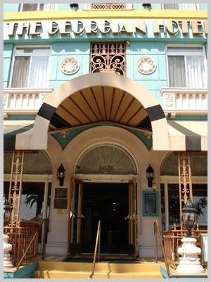 ...the Georgian Hotel, Santa Monica.  Every weekend!