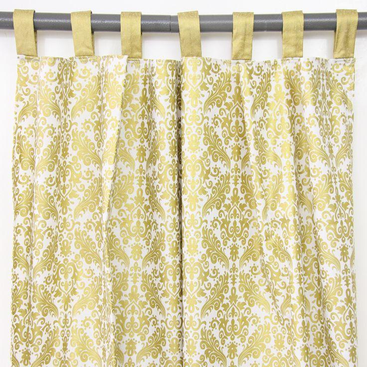 The 25 best Damask curtains ideas on Pinterest Cream bedroom
