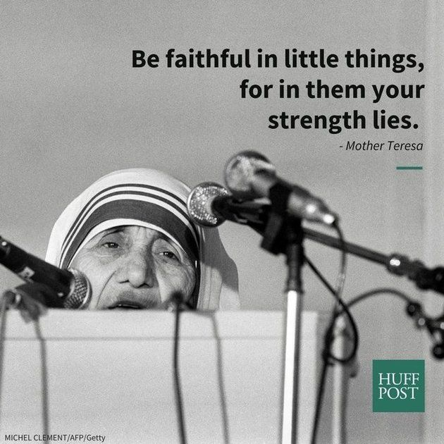 10 Mother Teresa Quotes That Remind Us Of Her Enduring Legacy | Huffington Post