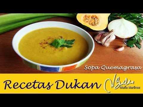 Sopa Quema Grasa, Dieta Dukan (Crucero PV) / Dukan Diet Slimming Soup (PV)