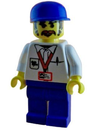 Lego Studios Cameraman Minifigure by LEGO. $5.45. Collectible LEGO minifigure.. From the Studios product line.. This is a loose LEGO minifigure (stands just under 2 inches tall).