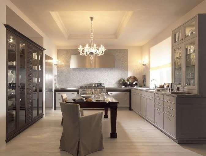 Arredare con mobili antichi e moderni - Cucina di design