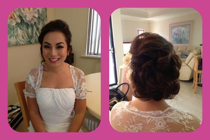 Wedding makeup & hair- jasmine