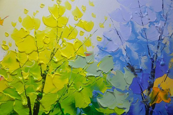 Original pintura abstracta pintura moderna textura por xiangwuchen