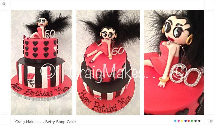 Betty Boop themed cake
