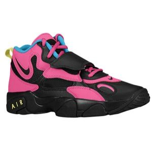 Nike Air Speed Turf - Girls' Grade School - Black/Black/Fusion Pink