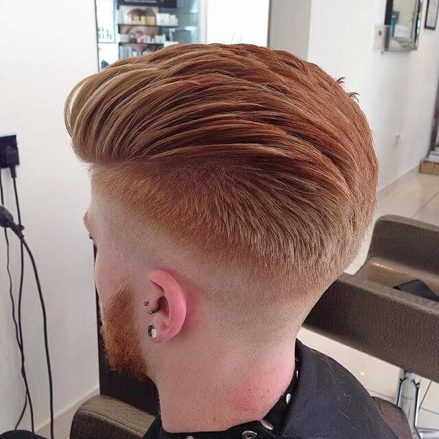 top ten haircuts for best 25 skin fade pompadour ideas on mid fade 5857