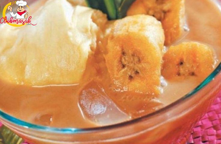 Resep Aneka Kolak Spesial, Es Kolak Ubi Kuah Durian, Menu Berbuka Puasa, Club Masak