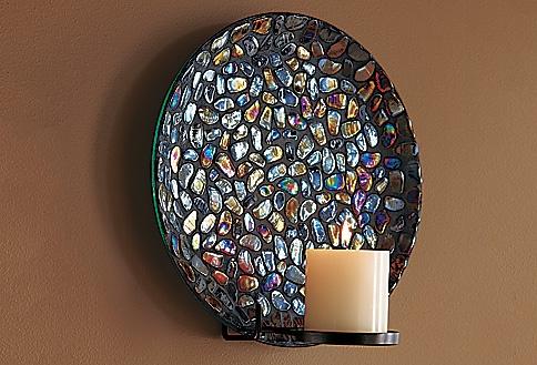 Aurora Mosaic Wall Sconce Partylite Candles Sconces
