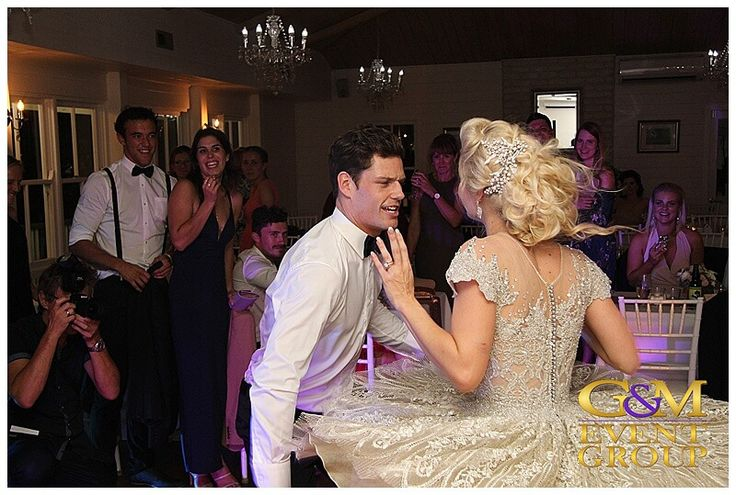 A Magnifique Maleny Wedding - Holly & Jesse at Weddings at Tiffany's | G&M Event Group #MCGlennMackay #DJBenShipway #WeddingMC #WeddingDJ #MalenyWedding #Dancing #Bride #Groom