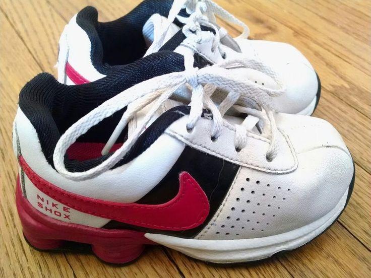 Nike Shox White Pink Black Toddler Baby Girl's Running Shoes Size 6C #Nike #Athletic
