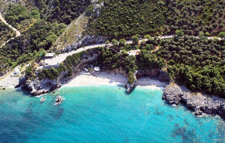 Aerial Photo of Mylopotamos Beach, Pelion - Greece