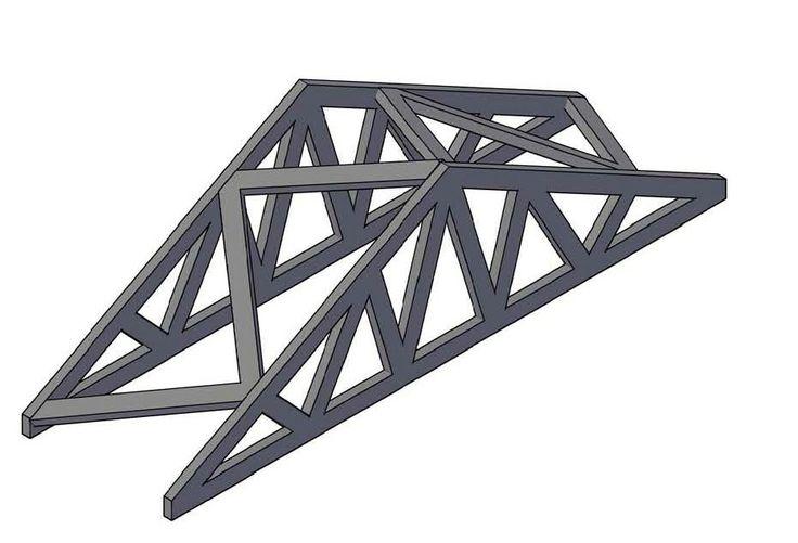 Truss Bridge Designs Balsa Wood | balsa wood truss - group picture, image by tag - keywordpictures.com
