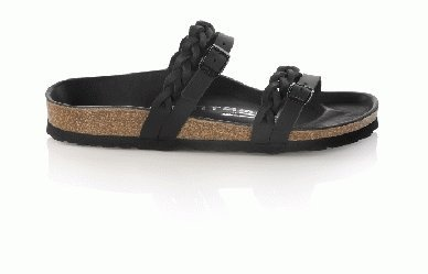 Tatami slippers Zulia in size 35.0 N EU made of Waxy Leather in