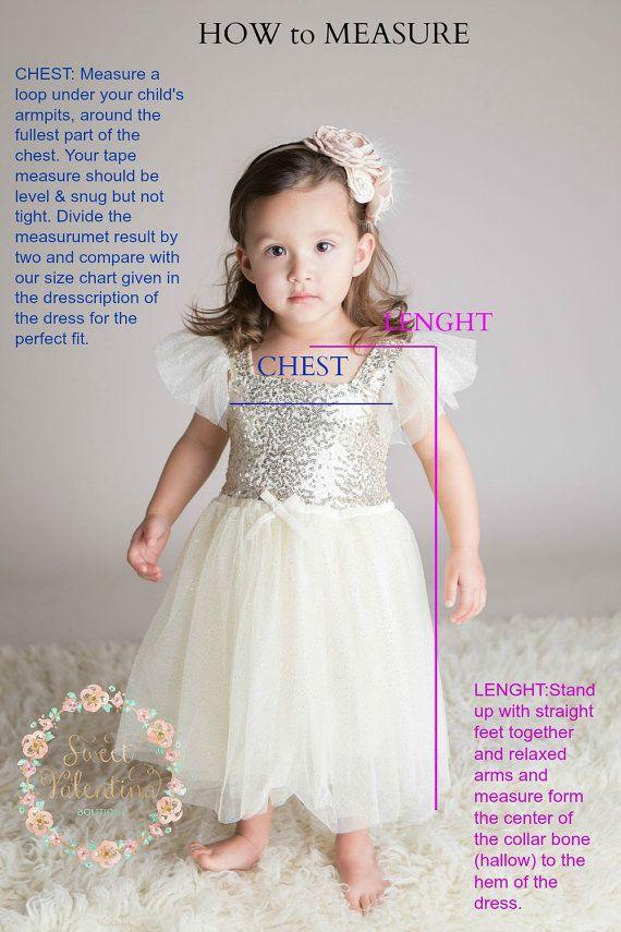 Flower Girl dress Ivory flower girl dress Rustic by SweetValentina