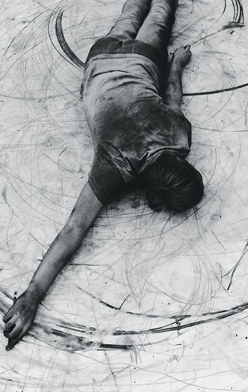 The Charcoal Movement | 'The Physicality of Drawing' exhibition at Arts Depot, London