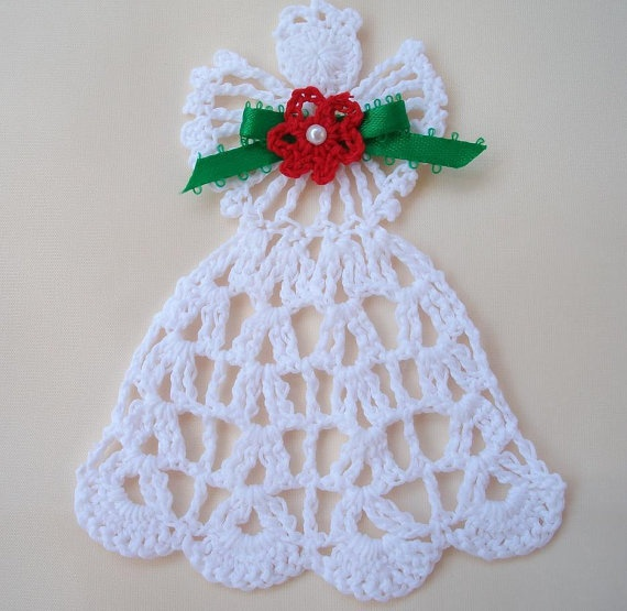 Crochet Angel Baptism Gift Christmas Lace Angel Ornament Tree: 303 Best Images About Crochet Angels On Pinterest