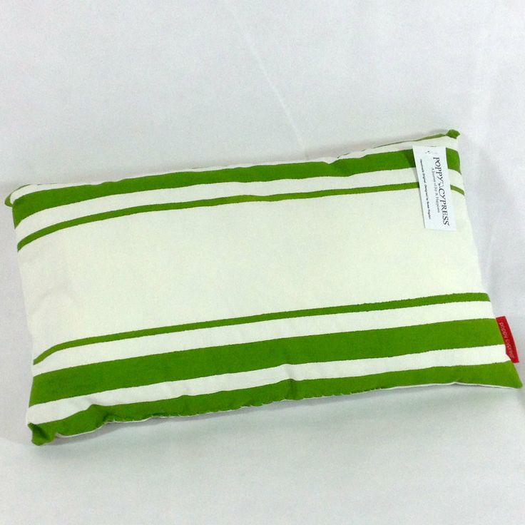 Poppy Cypress - Stripe Cushion - Granny Apple #handmade #cushions #home #gifts
