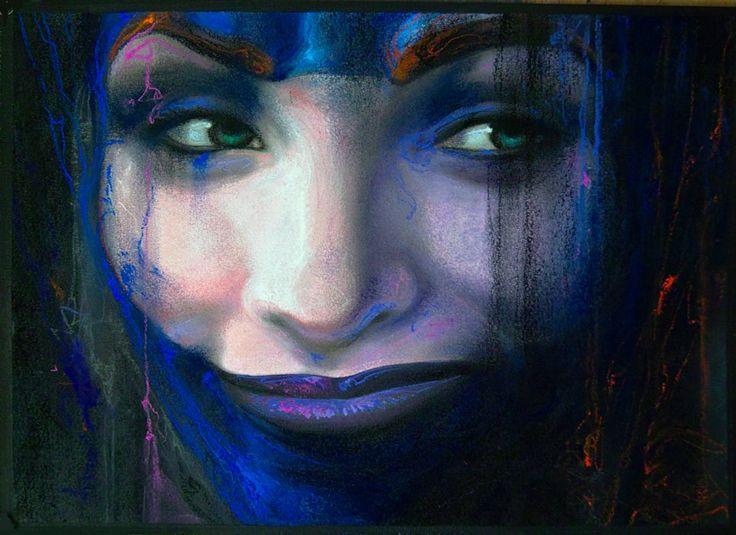 Série: IN-KARNA  #silviocadelo #ideomages #contemporaryart #dessin #pastel #paper #painting #art #hubertybreyne #gallery #drawing