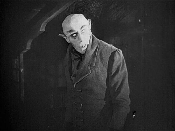 Max Schreck in Nosferatu-1922