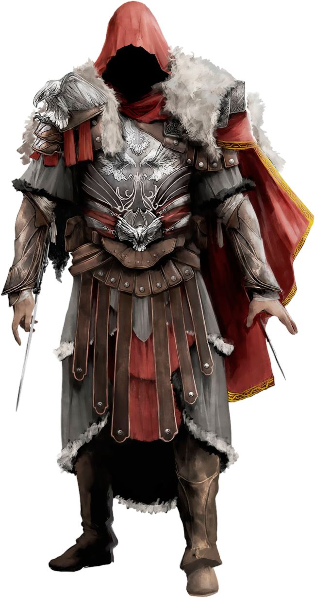 Assassin's Creed Brotherhood - Brutus Armor by IvanCEs.