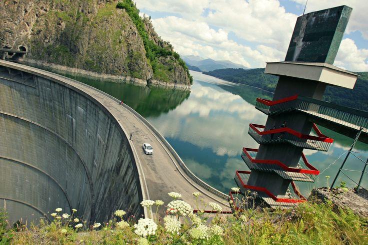 The reservoir at Vidraru